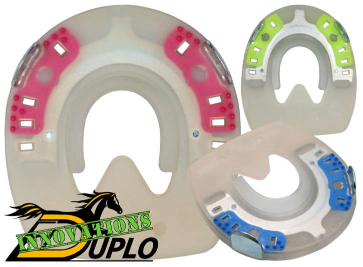 Clipped and Profiled Duplo Horseshoes (Test Material)