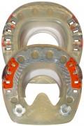 Standard STS con pestañas laterales y rosca