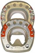 Standard STS mit Seitenkappen, Gewinde und ringförmigem Metallkern