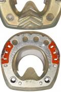 Beschläge mit ringförmigem Metallkern