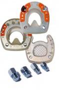 Stollen für Beschläge mit ringförmigem Metallkern