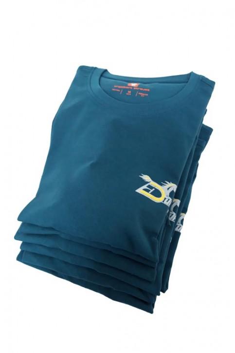 T-Shirt - bleu océan - S