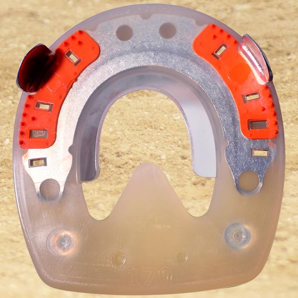 Standard HDS avec pinçons et filetages (M8) - rond - 178mm