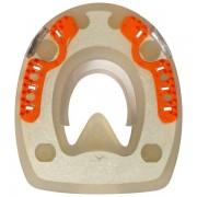 Standard mit Seitenkappen und ringförmigem Metallkern - oval - 118mm