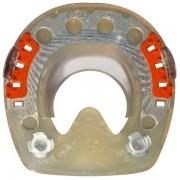 Standard STS con pestañas laterales y rosca M8 - redondo - 102mm