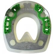 Extra mit Seitenkappen und ringförmigem Metallkern - rund - 118mm