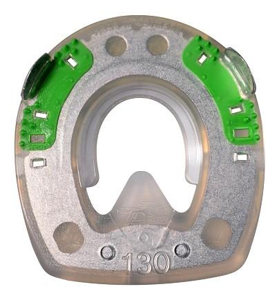 Extra mit Seitenkappen und ringförmigem Metallkern (mit Kunststofflippe) - rund - 130mm
