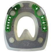 Extra mit Seitenkappen und ringförmigem Metallkern - oval - 146mm