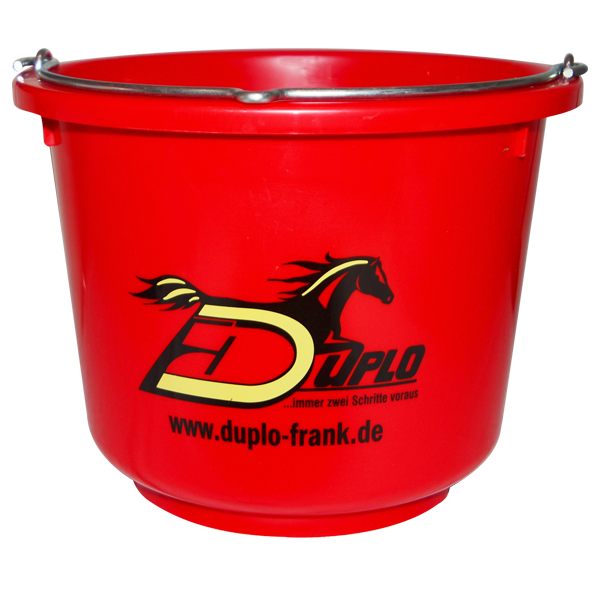 Feed Bucket - red
