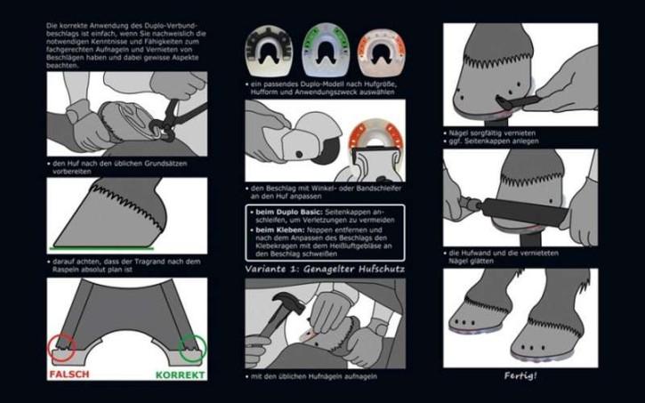 "Flyer ""Shoeing Instruction"""