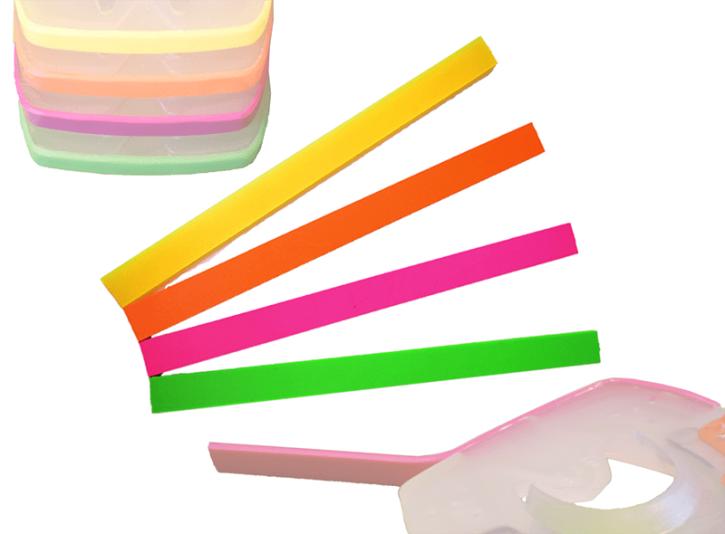 Tiras coloreadas
